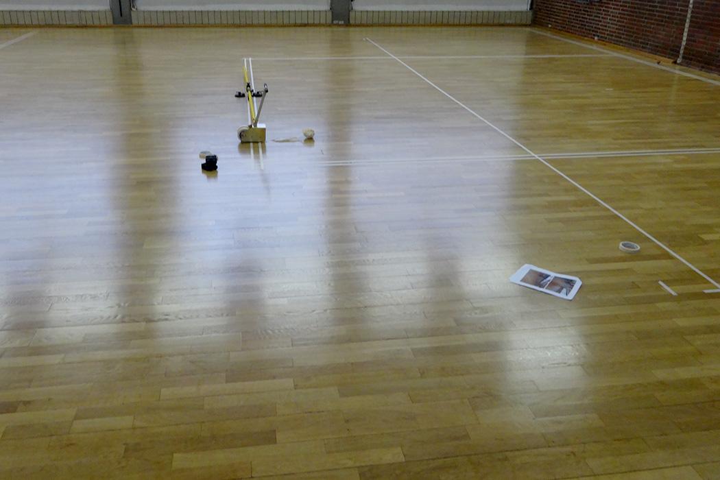 Sportboden schleifen und verlegen Berlin